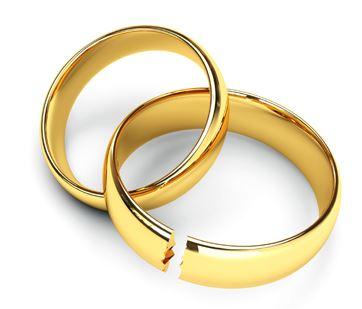 Alliance rompue en cas de divorce